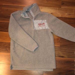 Sweaters - Alpha Phi Fuzzy Sweatshirt